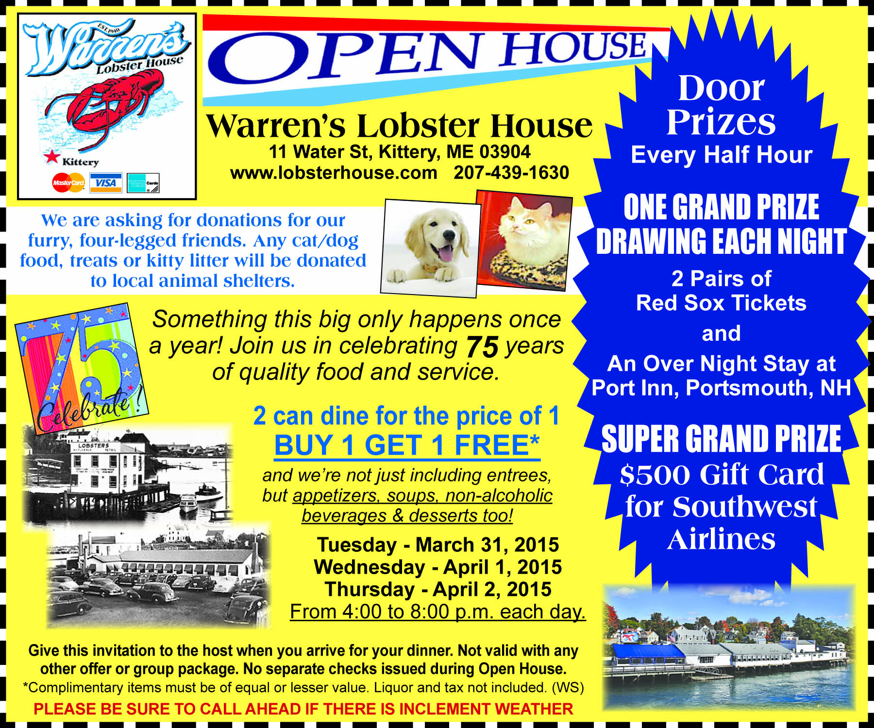 Warren Lobster House Kittery Me Coupons | Lobster House