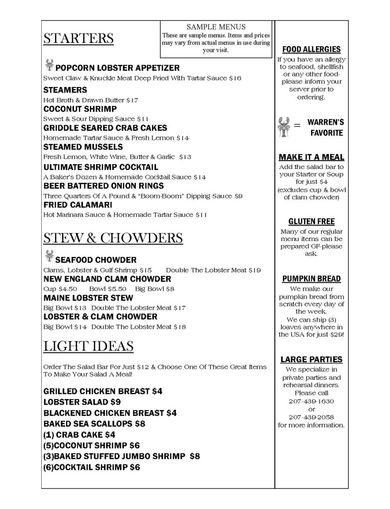 Menu dinner new March 2014_Page_1