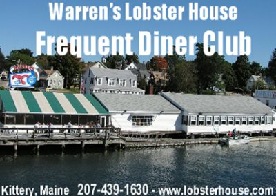 Warren's Frequent Diner Card